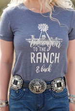 Cruel Girl Love You To The Ranch And Back Tee