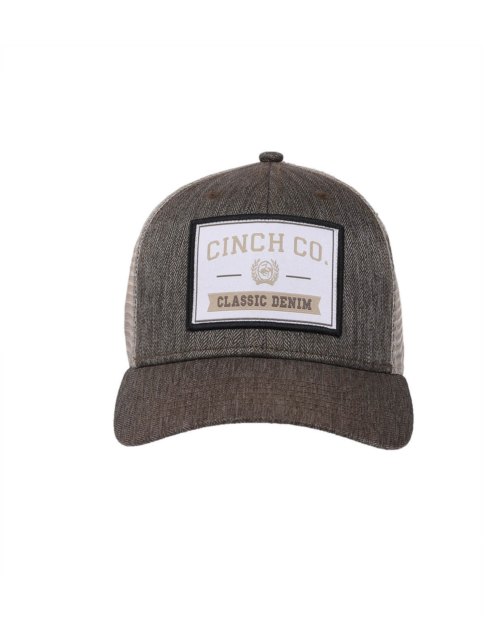 Cinch Mens Cinch Brown/Khaki Trucker Cap
