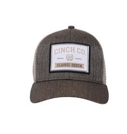 Cinch Mens Cinch Brown/Khaki Trucker Cap