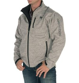 Cinch Mens Cinch Bonded Heather Grey Jacket