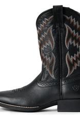 Ariat Ariat Kids Boots Black Western Cowboy Tycoon