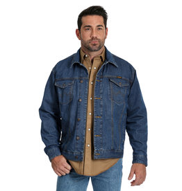 Mens Wrangler Concealed Carry Unlined Denim Jacket