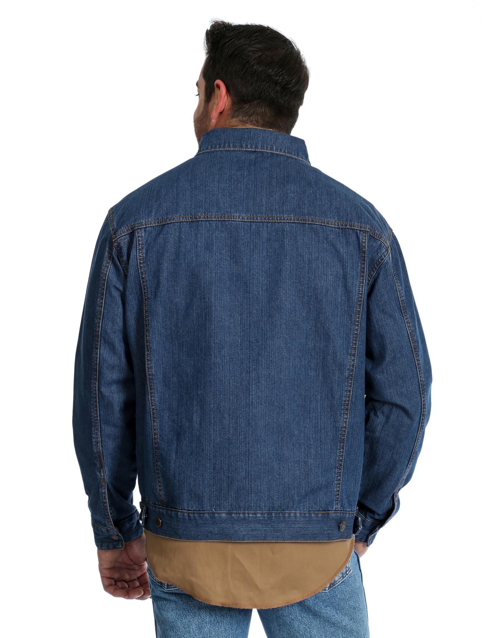 Mens Wrangler Concealed Carry Unlined Denim Jacket