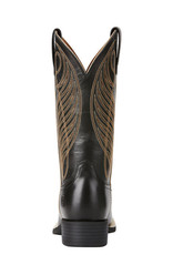 Ariat Ariat Womens Black Round Up Wide Square Toe Western Boot