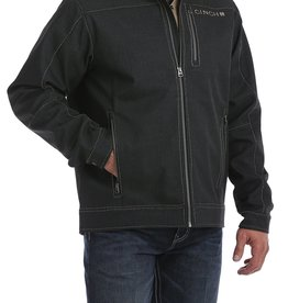 Cinch Mens Cinch Charcoal Bonded Texture Jacket