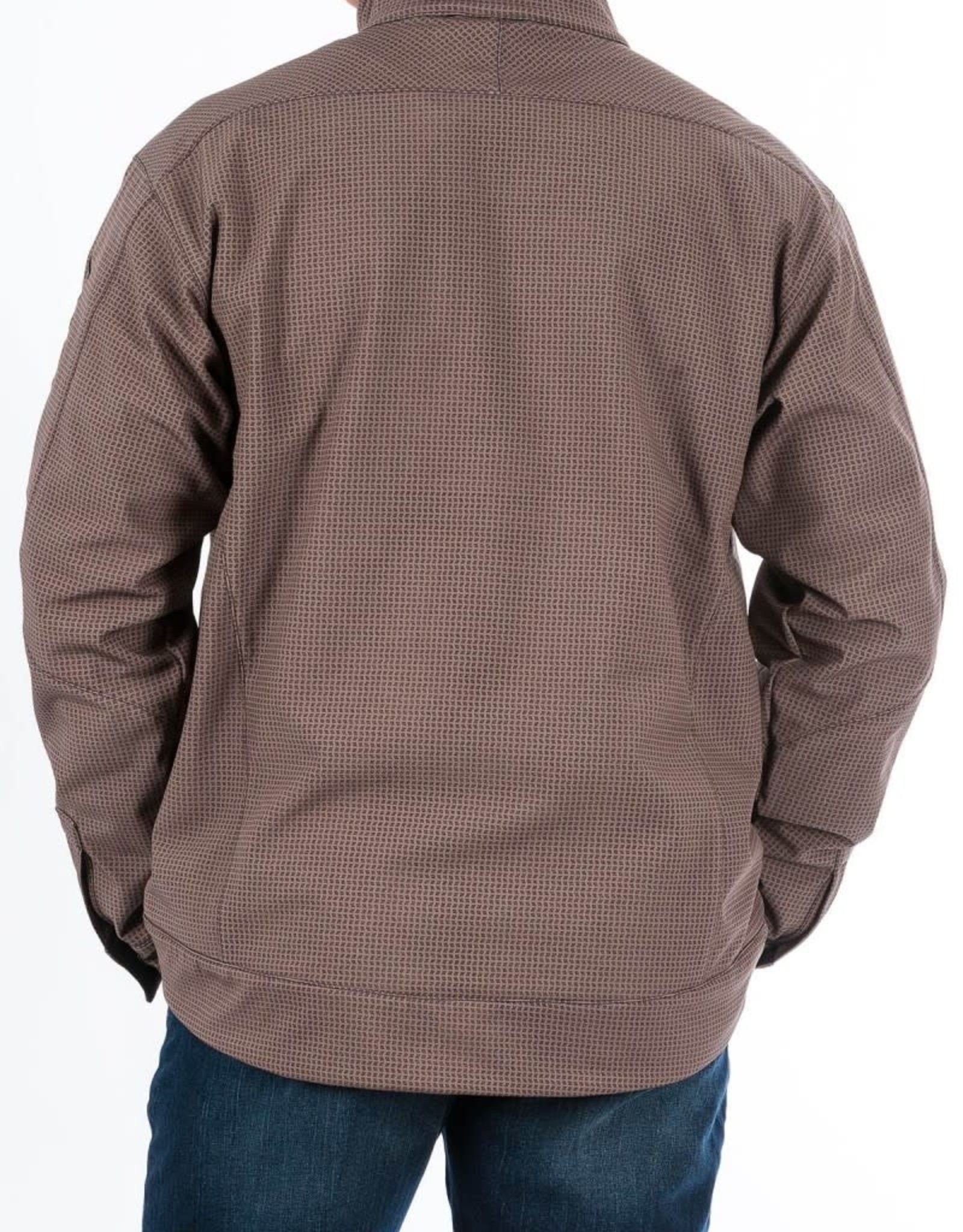 Cinch Mens Cinch Bonded Concealed Carry Stone Tan Black Jacket