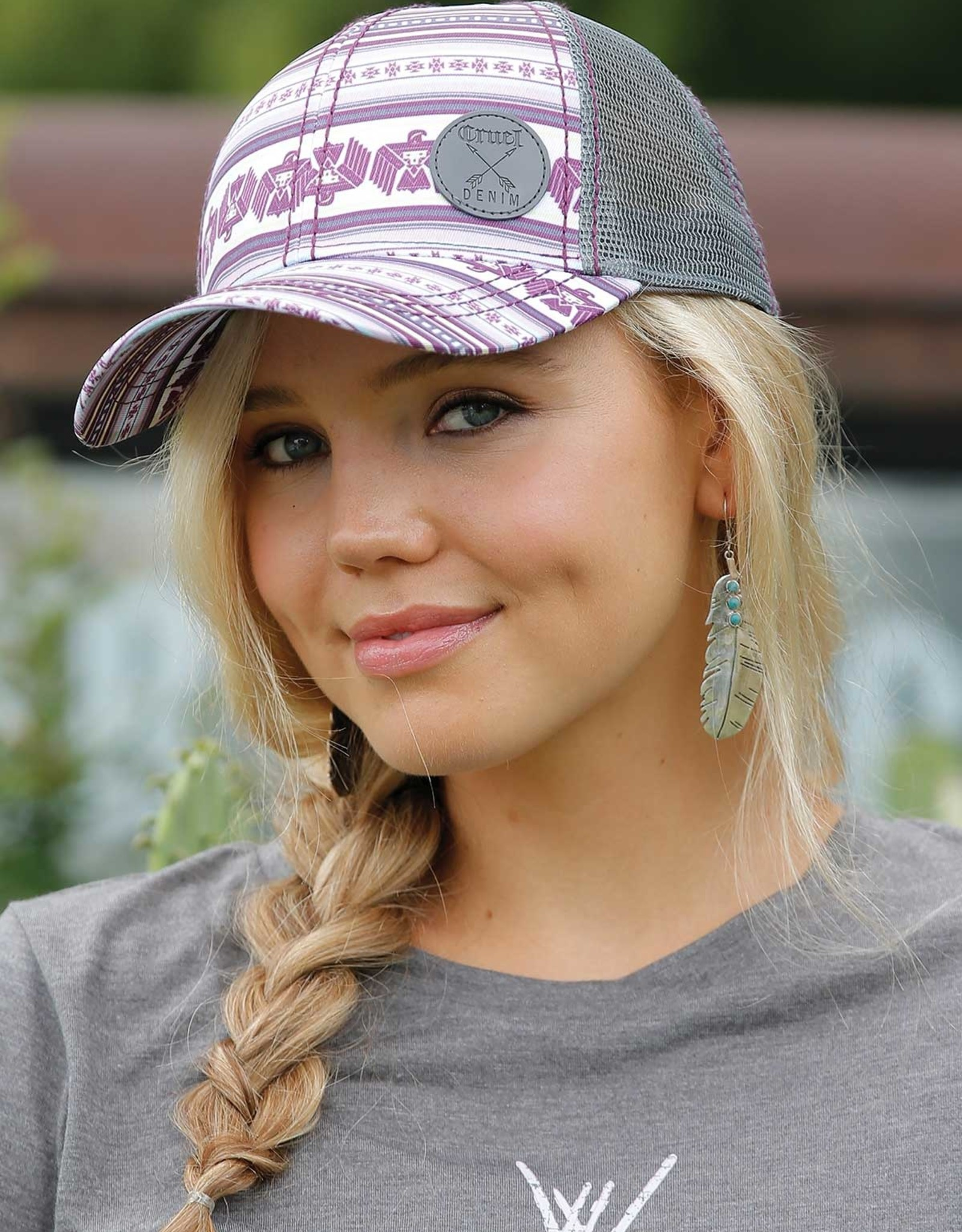 Cruel Girl Purple Thunderbird Ball Cap