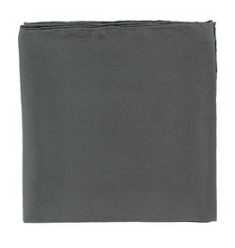 Wild Rag 100% Silk Solid Black 35x35