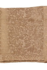 Wild Rag 100% Silk Brown Jacquard 33x33