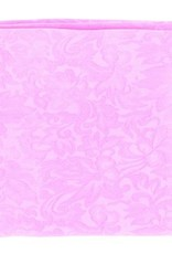 Wild Rag 100% Silk Hot Pink Jacquard 33x33