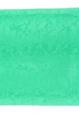 Wild Rag 100% Silk Kelly Green Jacquard 33x33