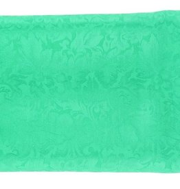Wild Rag 100% Silk Kelly Green Jacquard 33x33