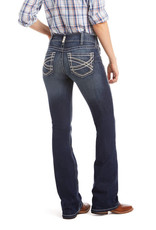 Ariat Ariat Womens REAL Mid Rise Stretch Boot Cut Jean Entwined