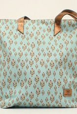 Ariat Ariat Matching Cruiser Tote Light Turquoise Cactus Print
