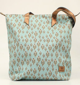 Ariat Ariat Matching Cruiser Tote Light Turquoise Cactus Print