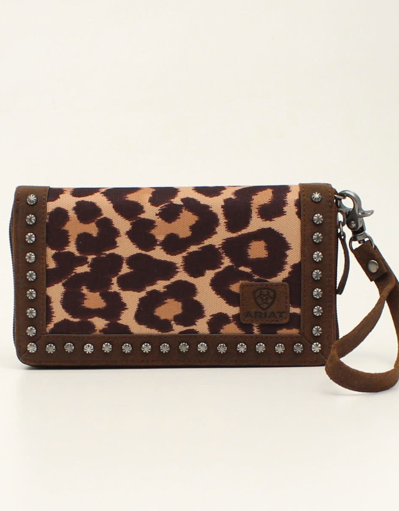 Ariat Ariat Matching Cruiser Wallet Brown Leopard Print