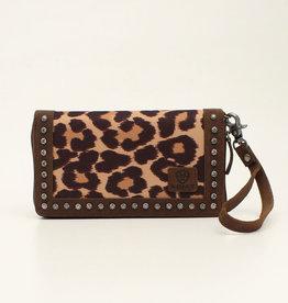 Ariat Ariat Matching Cruiser Wallet Brown Leopard Print