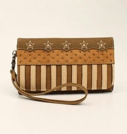 Lady Liberty American Stars and Strips Clutch