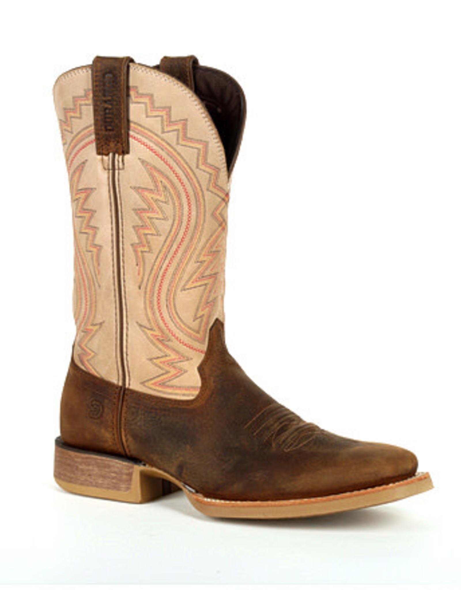 Durango Mens Durango Rebel Pro Distressed Brown Square Toe Boot