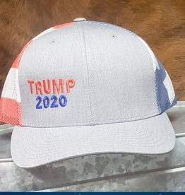 Trump 2020 Red White Blue Flag Baseball Cap