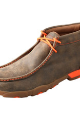 Mens Twisted X Driving Mocs Bomber Orange