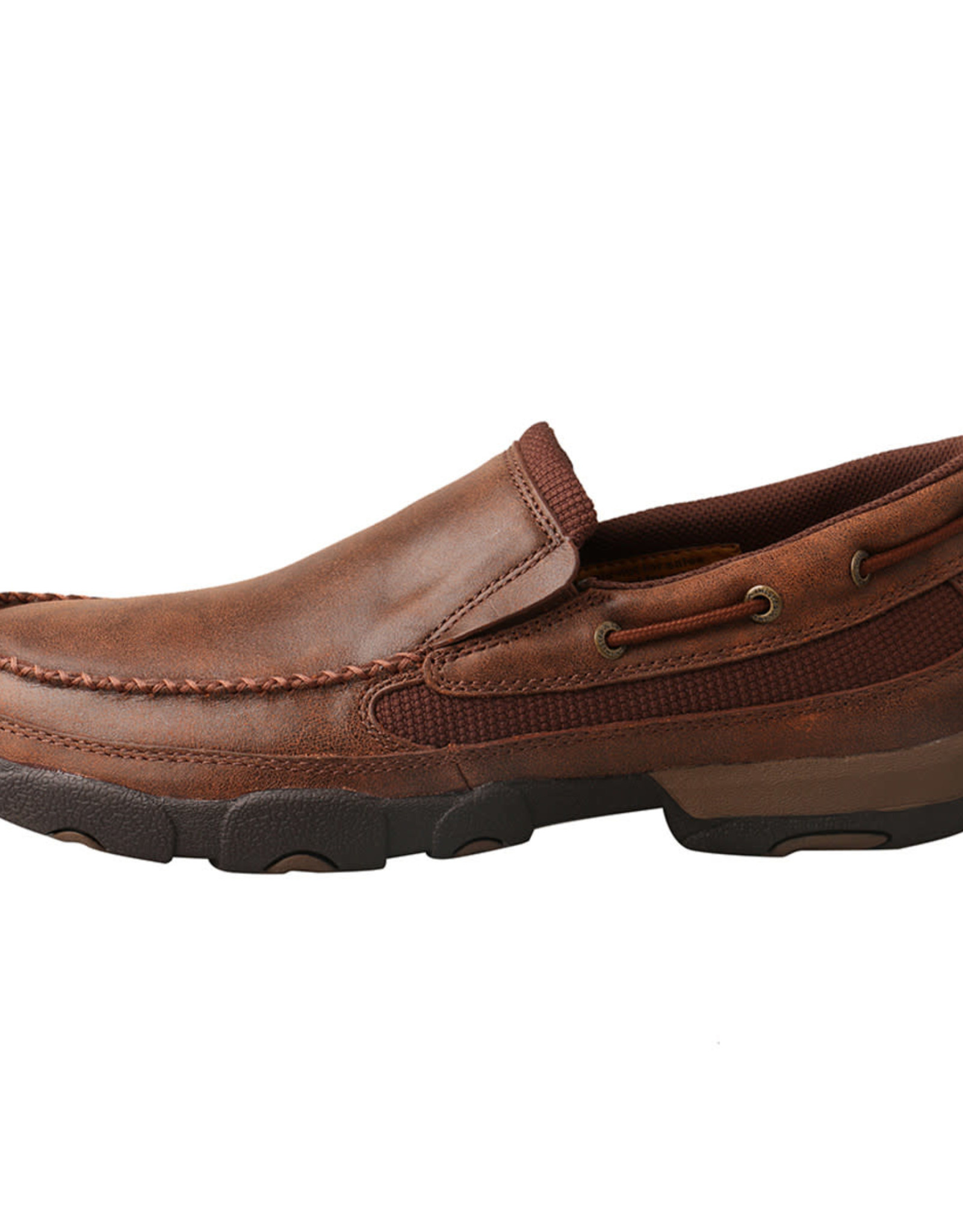 Mens Slip On Twisted X Driving Mocs