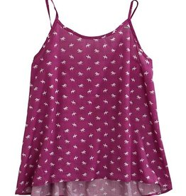 Tin Haul Womens Tin Haul Purple Horse Print Tank Top