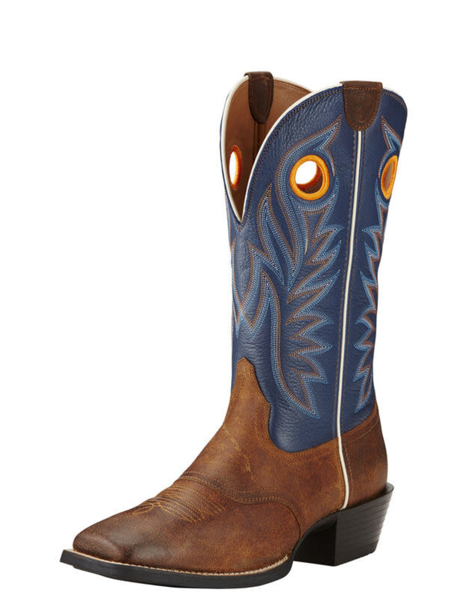 Mens Ariat Sport Outrider Pinecone Federal Blue Western Cowboy Boot