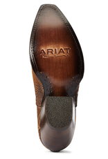 Ariat Womens Ariat Short Dixon Cowboy Boot Brushed Silver