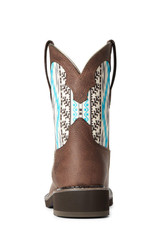 Ariat Womens Ariat Turquoise Aztec Fatbaby Heritage Cowboy Boot