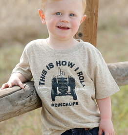 Cinch Cinch Toddler Boys Heather Khaki T Shirt This Is How I Roll