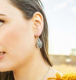 Montana Silversmiths Earrings Blooming Cactus