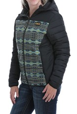 Cinch Womens Cinch Quilted Hooded Jacket