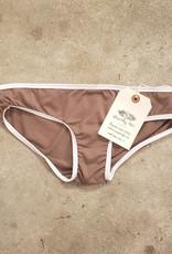 Devil May Wear Basic Bikini Cut Underwear. Bamboo Blend. Mocha