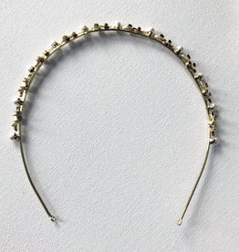 Young & Heart Aphrodite Golden Branch and Pearl Headband