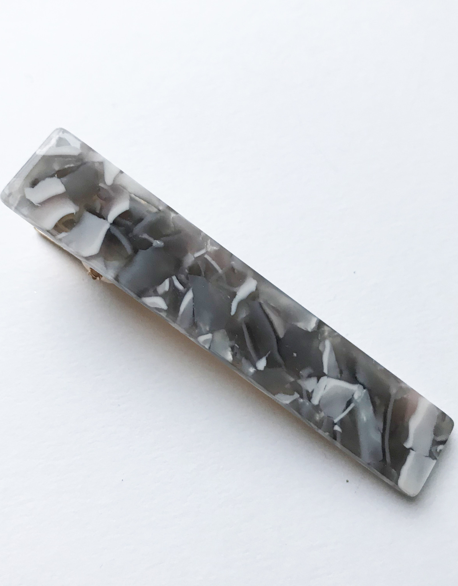 Young & Heart Resin Thin Clip Light Grey