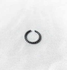 Chris Gillrie Surgical Steel Bubble Ring Size 2.5