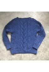 Devil May Wear Fisherman's Wife Sweater 66% Merino Wool 34% Silk