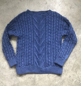 Devil May Wear Fisherman's Wife Sweater 66% Merino Wool 34% Silk