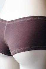 Devil May Wear Hot Shorts Bamboo Blend Underwear. Mocha