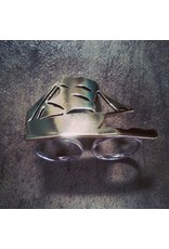 Chris Gillrie Multi Finger Ship Ring. Brass. Solid Silver ring back. Size 7