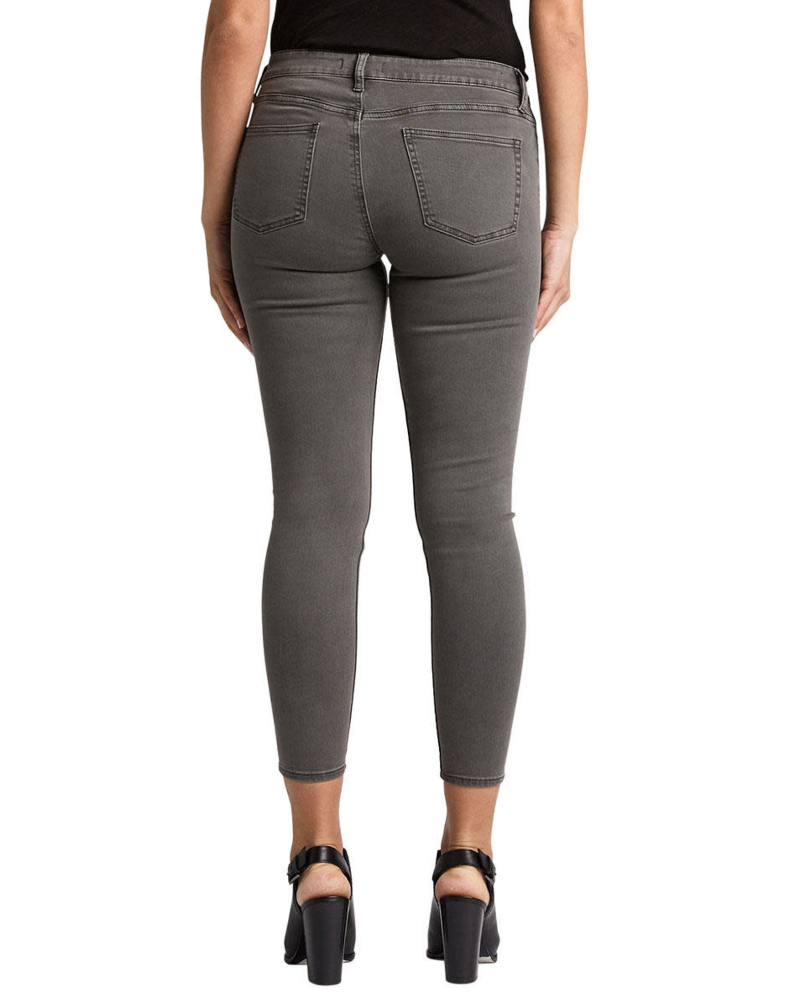 Silver Brand Jeans Most Wanted Grey Skinny Jeans. Mid Rise.