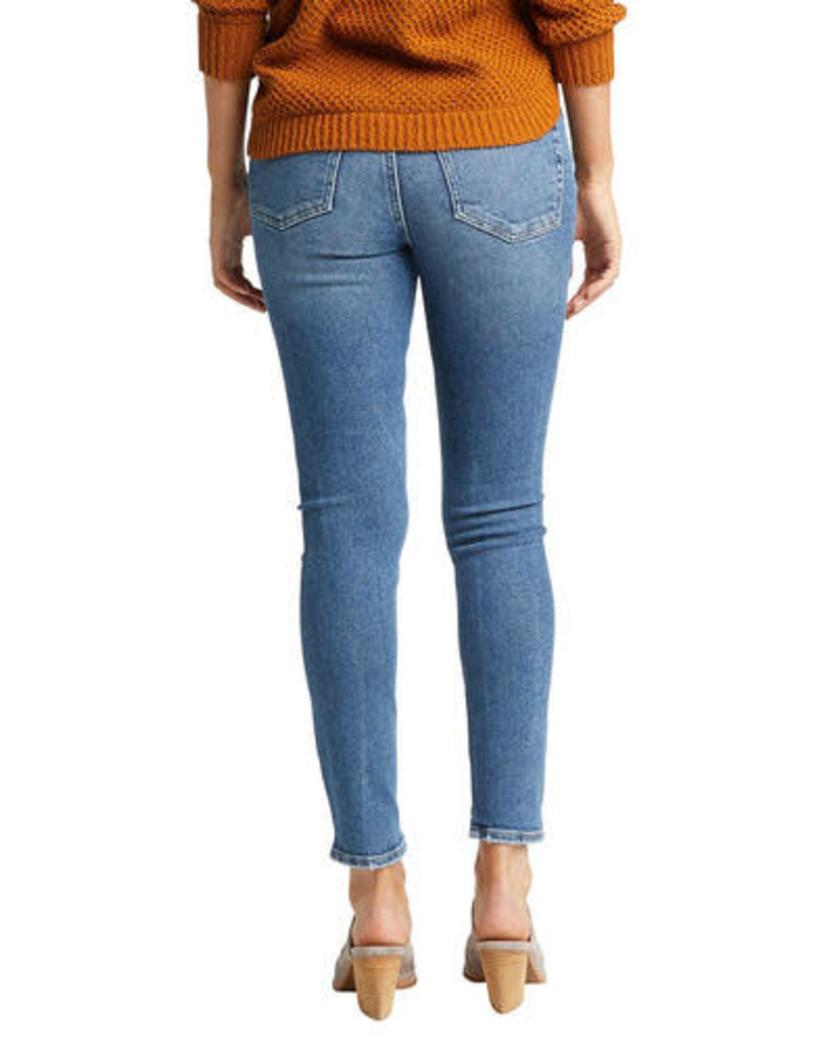 """Silver Brand Jeans Most Wanted Indigo Skinny Jeans. 27"""" inseam. Mid Rise."""