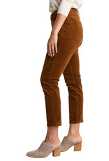 Silver Brand Jeans High Note Cords. Straight Leg Cord Trousers. High Rise. Camel