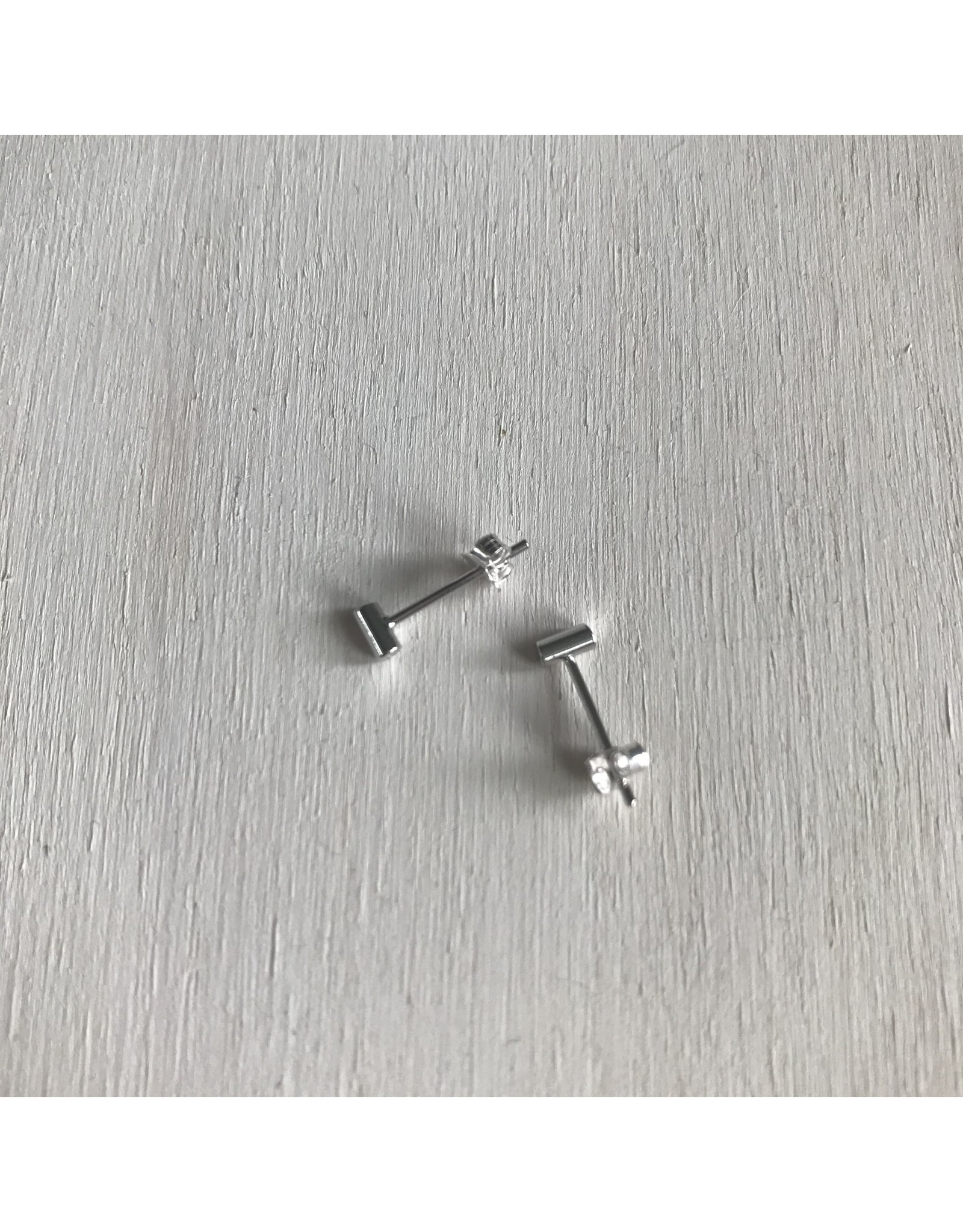 Devil May Wear Sticks and Stones Silver Studs