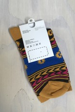 Young & Heart Idea Socks Gold Tribal