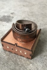 Big Blue Mama Big Blue Mama Bracelet. Leather. Measuring tape. Copper