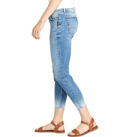 "Silver Brand Jeans ELYSE SKINNY CROP waist 25"" length 26"""