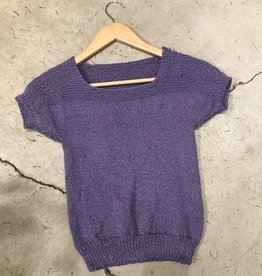 Devil May Wear Hand Knit Iris Silk Summer Sweater
