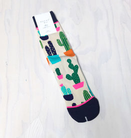 Young & Heart Cactus Socks